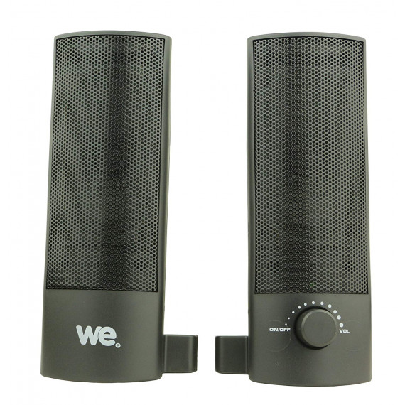 WE Enceinte PC 2.0  2x 2,5 W