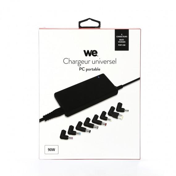 WE Chargeur universel pour PC portable