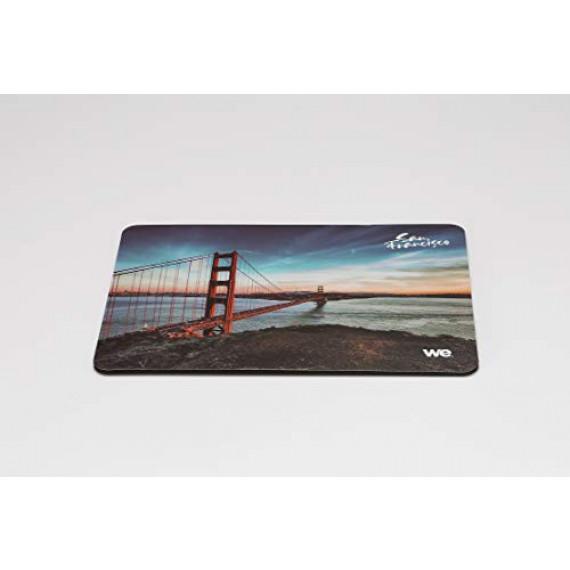 WE Tapis de souris  pack retail taille du tapis: 220x160x3mm motif san francisco