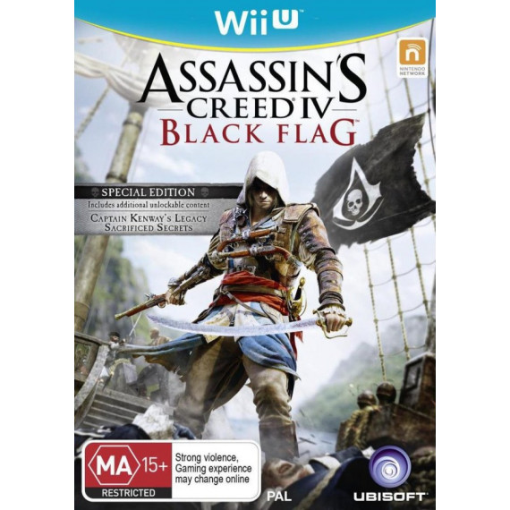 Ubisoft Assassin's Creed IV : Black Flag (Wii U)