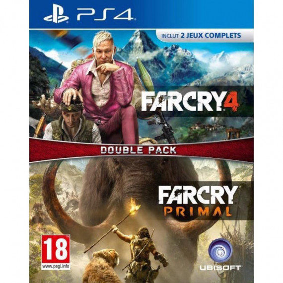 Ubisoft FAR CRY 4 + FAR CRY PRIMAL PS4