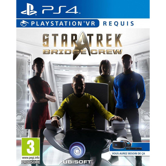 Ubisoft STAR TREK : BRIDGE CREW PS4