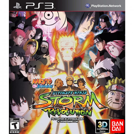 BANDAÏ Naruto Shippuden : Ultimate Ninja Storm - Revolution (PS3)
