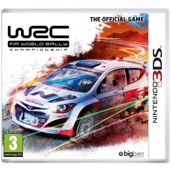 Bigben Interactive WRC FIA World Raclly Championship The Official Game (Nintendo 3DS)