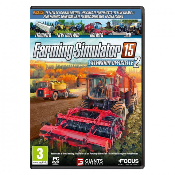 Focus Home Interactive Farming Simulator 15 - Extension Officielle 2 (PC)