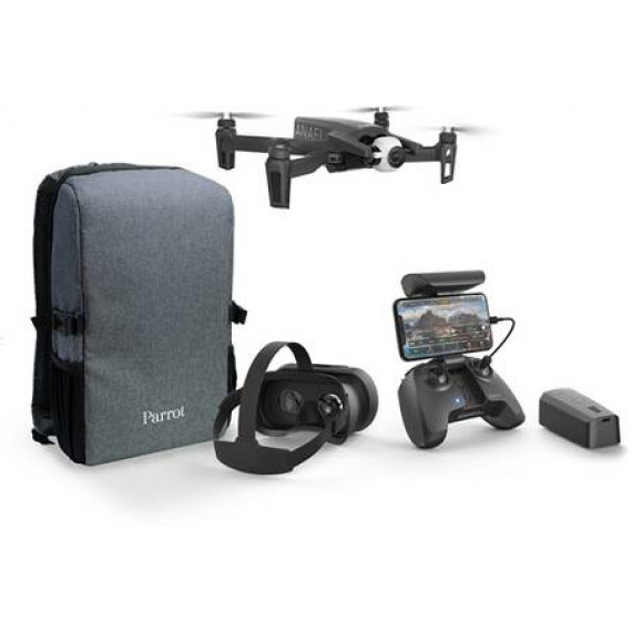 Parrot Drone 4K Pack  Anafi FPV + 1 batterie supplémentaire