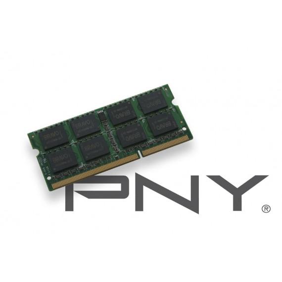 PNY SO-DIMM 2Go DDR3 1333 1.35V SOD2GBN10600/3L-SB