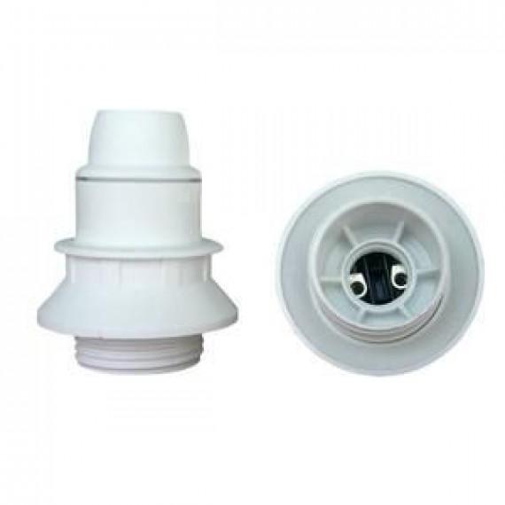 GENERIQUE Douille E14 thermoplastique 1 bague blanc