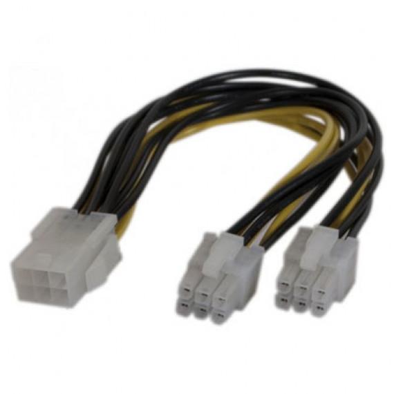 GENERIQUE Doubleur d'alimentation PCI Express 6 pins