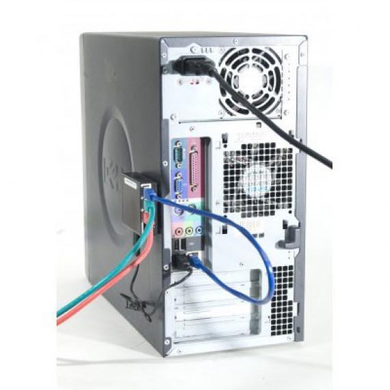 GENERIQUE Mini switch auto-alimenté par USB (4 ports Gigabit Ethernet)