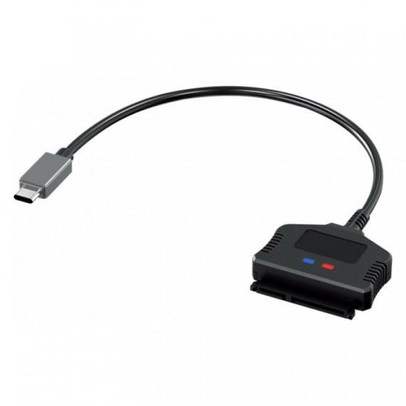 """GENERIQUE Adaptateur USB 3.1 Type C / SATA 2.5"""" SSD-HDD auto-alimenté"""