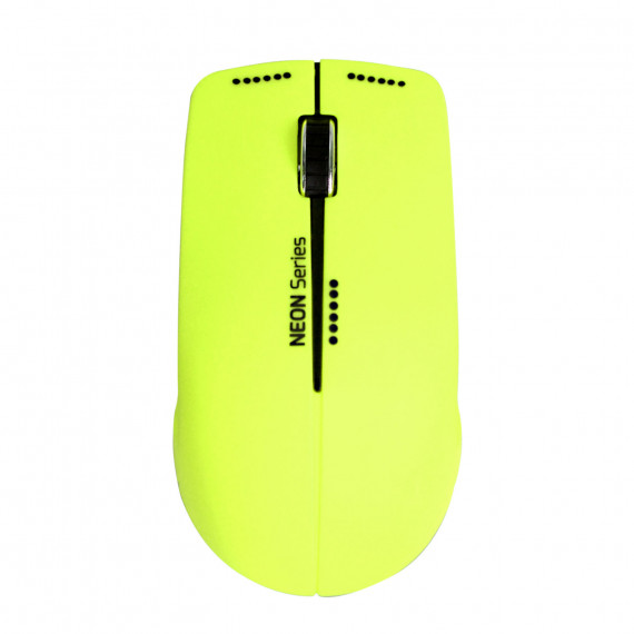 PORT DESIGN MOUSE NEON WIRELESS  MOUSE NEON WIRELESS + MOUSEPAD LIME