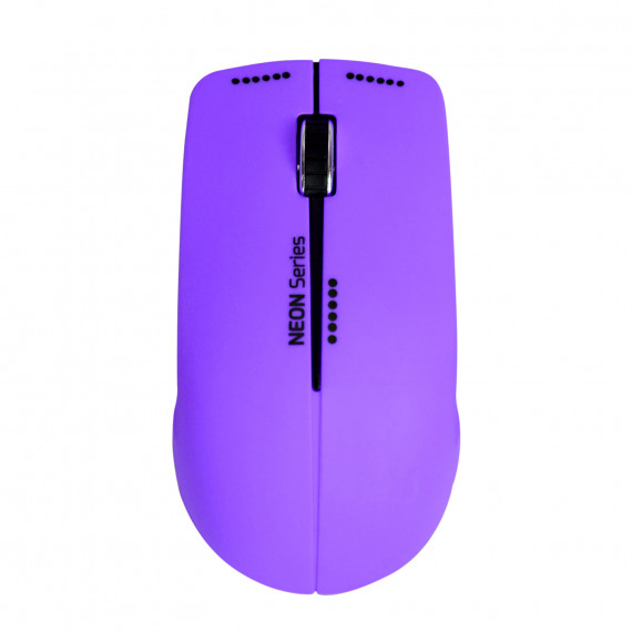 PORT DESIGN MOUSE NEON WIRELESS  MOUSE NEON WIRELESS + MOUSEPAD PURPLE