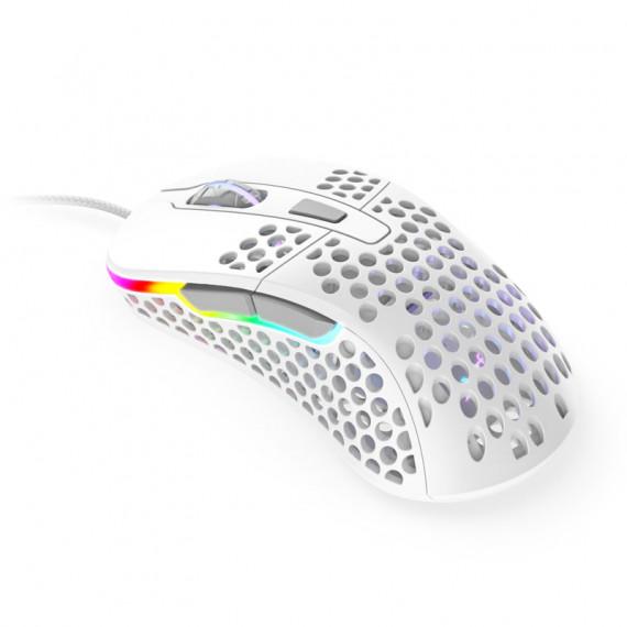 Xtrfy Souris de jeu  M4 RGB - blanche