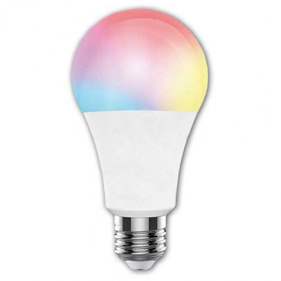 MCL MCL Multicolored connected bulb Wifi MCL MCL Ampoule multicolore connectee Wifi compatible Google Home & Alexa