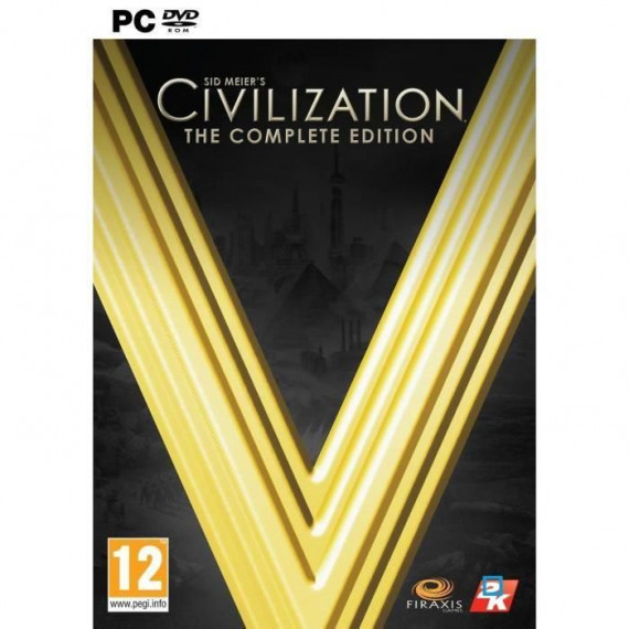 JUST FOR GAMES CIVILIZATION 5 PC - COMPLETE