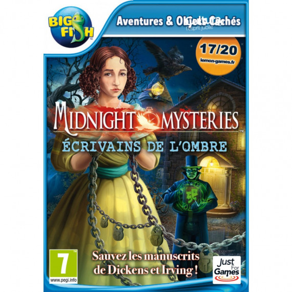 JUST FOR GAMES MIDNIGHT MYSTERIES 6 PC