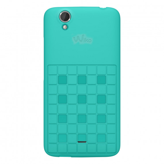 WIKO Coque Damier Turquoise Birdy