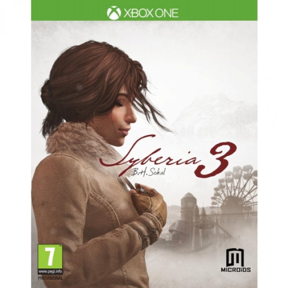 JUST FOR GAMES Syberia 3 XBOX ONE