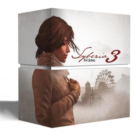 JUST FOR GAMES Syberia 3 COLLECTOR PS4