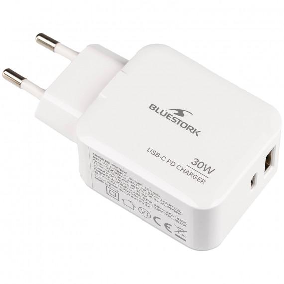 BLUESTORK Chargeur USB-C PD 3.0 30W