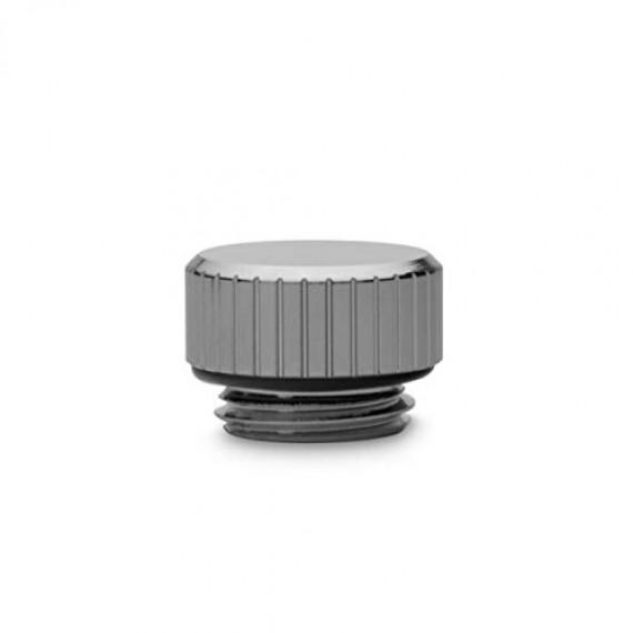 EK Water Blocks EK-Quantum Torque Mini Verschlusstopfen G1/4 Pouces - Nickel noir