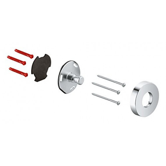 Grohe GROHE 48279000 Support Barre de douche , argent