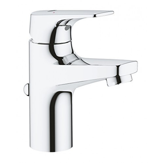 Grohe GROHE 23751000 Bauflow Robinet lave-mains, Taille XS, corps lisse, 20575000 (Import Allemagne), S-Size