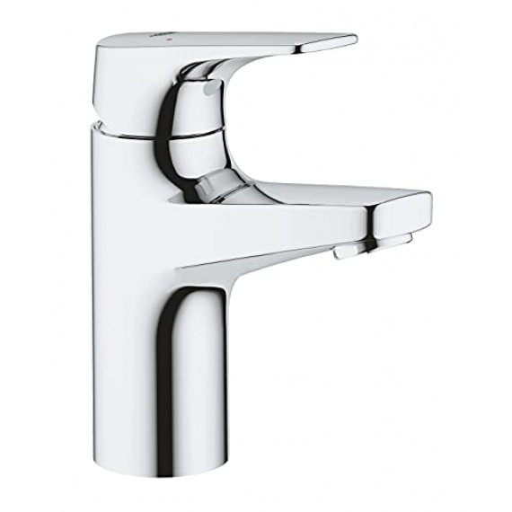 Grohe GROHE Bauflow Robinet lave-mains, Taille XS, corps lisse, 20575000, 23752000, S-Size