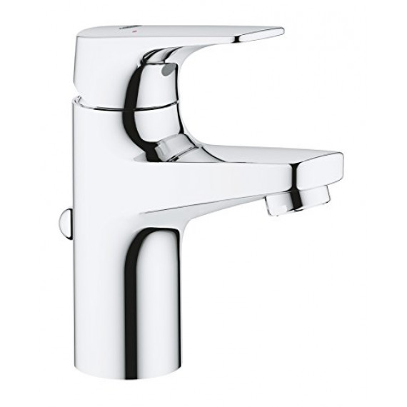 Grohe GROHE Bauflow Robinet lave-mains, Taille XS, corps lisse, 20575000, 23801000, S-Size