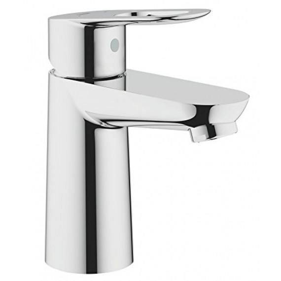 Grohe GROHE 23337000 Robinet mélangeur lisse pour lavabo avec bec tubulaire Chromé 1,27 cm, S-Size