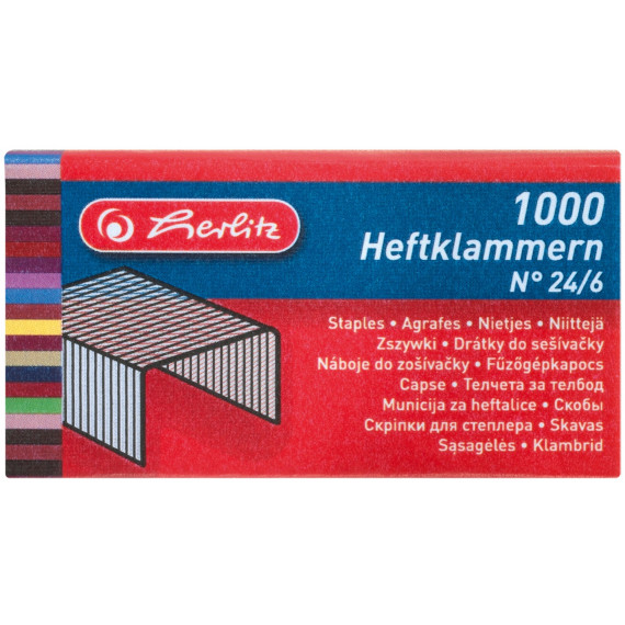 Herlitz Heftklammern No. 24/6
