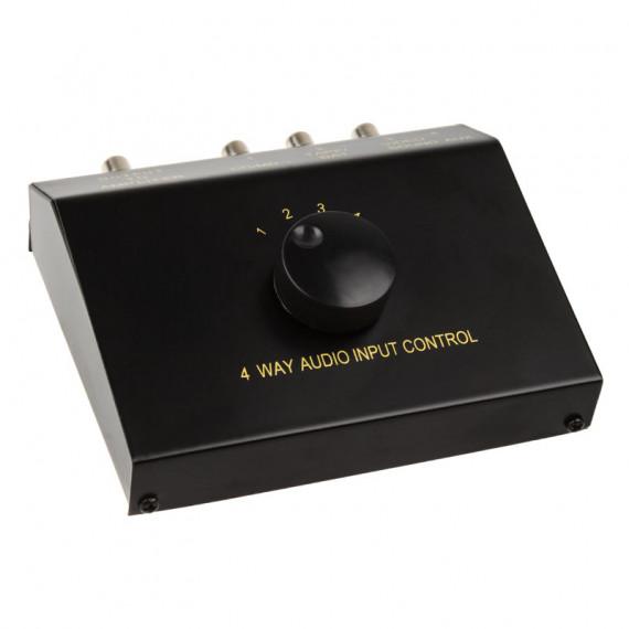 InLine 4x, prise RCA / 3,5 mm – noir