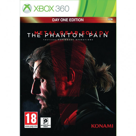 Konami Metal Gear Solid V : The Phantom Pain (Xbox 360)