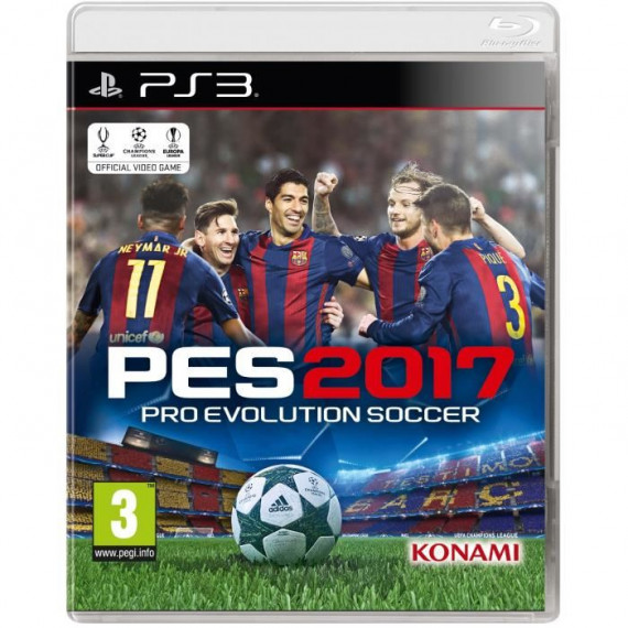 Konami PES 2017 PS3