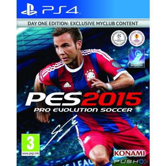 Konami Pro Evolution Soccer 2015 (PS4)