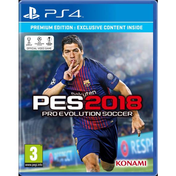 PES 2018 Premium D1 Edition (Xbox One) (Pré-commande - Sortie le 14 Septembre 2017)
