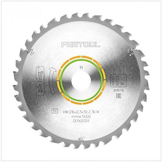 Festool 500124 DIY, 216x2,3x30 W36