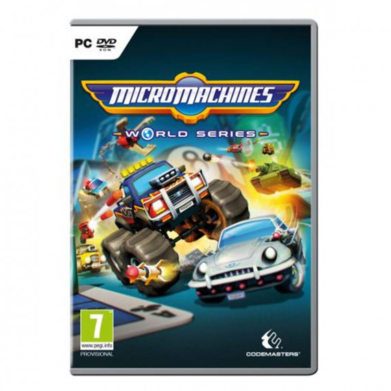 KOCH MEDIA MICRO MACHINES WORLD SERIES PC