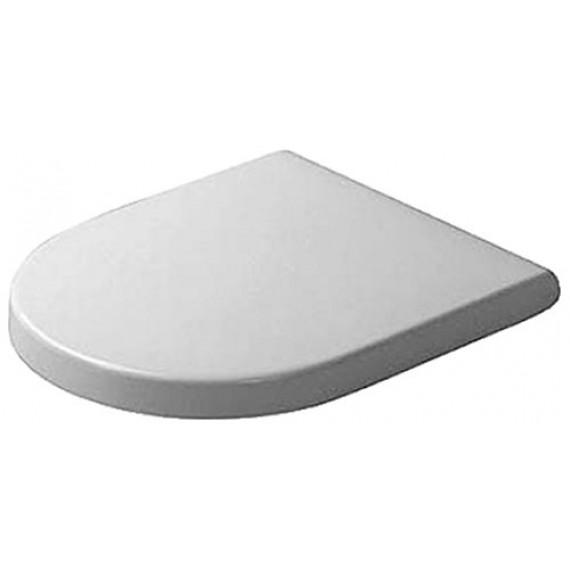 Duravit Starck 3 Abattant WC blanc, 46.5 x 38.1 x 4.3 cm