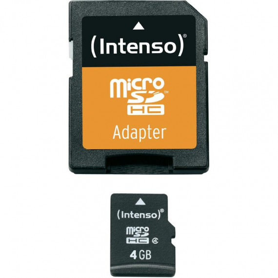 INTENSO microSDHC 4 GB