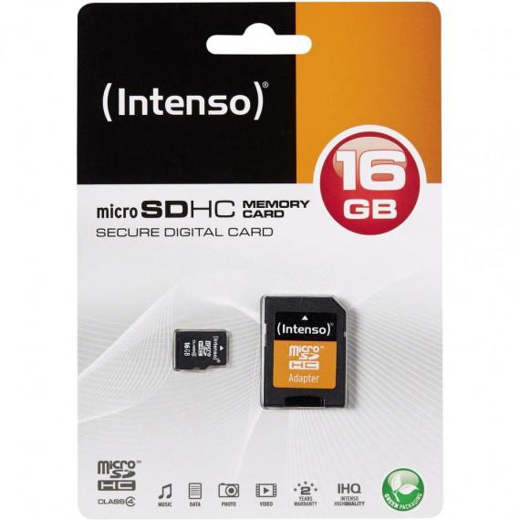 INTENSO microSDHC 16 GB