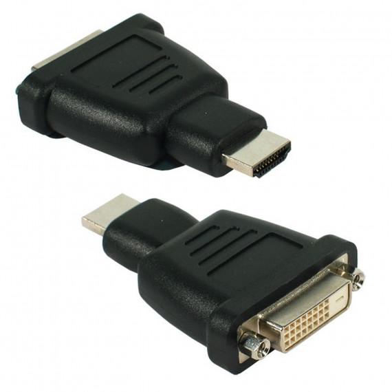 GENERIQUE Adaptateur DVI-D Femelle / HDMI mâle
