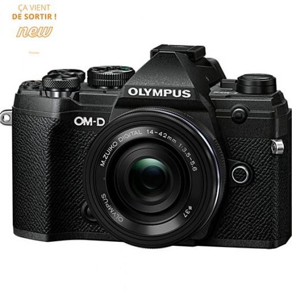 Olympus E-M5 Mark III Noir + 14-42 mm Noir