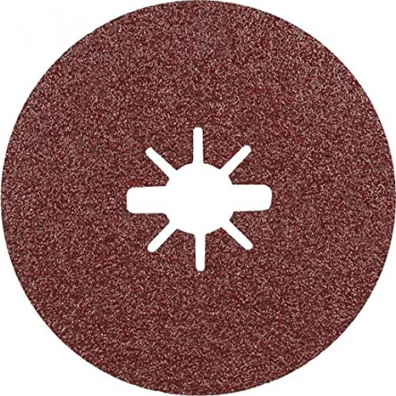 Bosch Professional 25x Disques en fibre céramique X-LOCK Prisma Expert R781 (pour Acier, Tôles en acier inoxydable, Ø 125 mm, Grain 60, Accessoire Petite meuleuse angulaire)