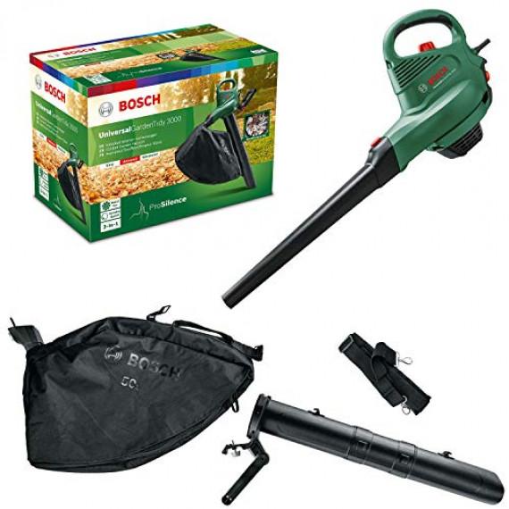 1Control Aspirateur souffleur broyeur électrique Bosch Universal Garden Tidy 3000w
