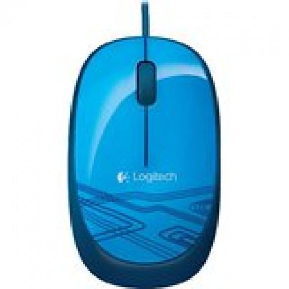 souris Logitech Mouse M105 Blue bleu USB 3 clés optique 1000 ppp