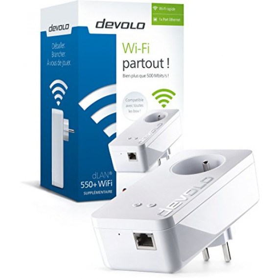 DEVOLO dLAN 500 WiFi Starter Kit+ CPL