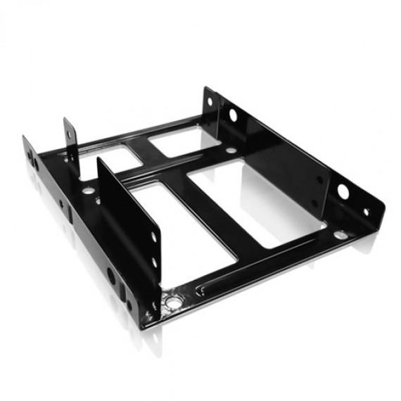 """ICY BOX IB-AC643 Kit de montage sur 3.5 Bay  pour 2.5"""" 2 x Disque dur/SSD"""