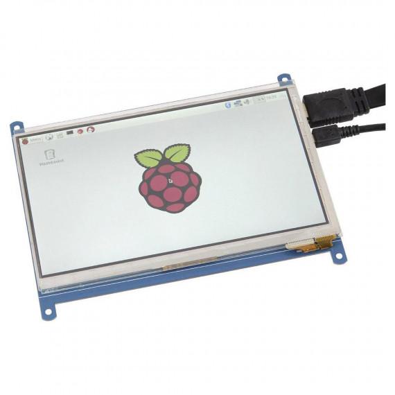 """Joy-It JOY-iT RB-LCD-7-2 Ecran tactile LCD 7"""" pour Raspberry"""